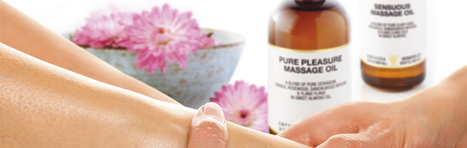 美容と健康のためのアロママッサージ